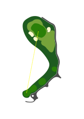 EAST COURSE - HOLE 2