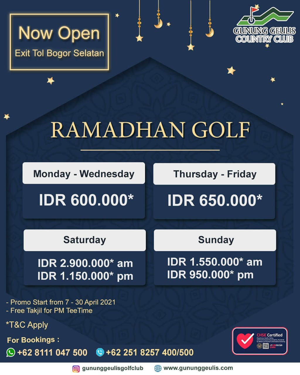 Ramadhan Promo April